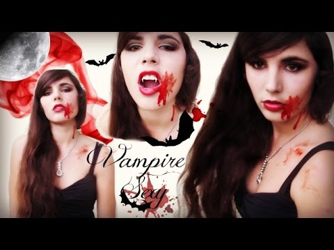 maquillage halloween vampire sexy twilight vampire. Black Bedroom Furniture Sets. Home Design Ideas