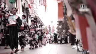 ゲリラファッションショー/大分のモデル事務所 MINEプロダクション