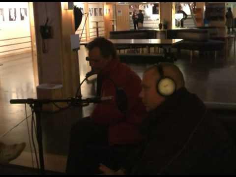 Sweet papas bluesband - Intervjuas i Radio Krokom