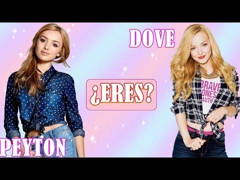 ¿Eres Peyton List o Dove Cameron? - Test Personalidad   ¡ADELANTE FANS!
