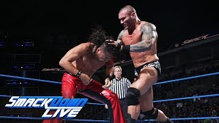 Shinsuke Nakamura vs. Randy Orton - Winner gets WWE Title opportunity: SmackDown LIVE, Sept. 5, 2017