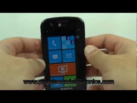 How To Unlock At&t Samsung Focus SGH-i917