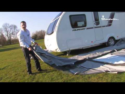 Isabella Awnings - Packing up