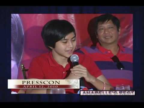 Sen. Bongbong Marcos - Bongbong & Family -- Iginuhit ng Showbiz (12 April 2010)