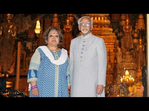Hamid Ansari's wife says nothing wrong in chanting 'Om' while yoga| Oneindia News