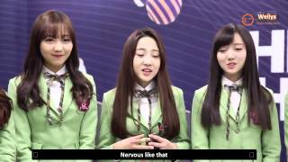 [ENG][HD] 141218 Lovelyz - The Show! #6 Artist of the week