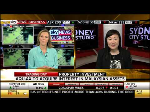 Sky Business News - Tan Yang Po talked about the 4 Malaysia assets Aquaint is injecting