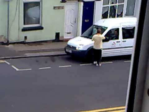 Traffic warden gets a ticket