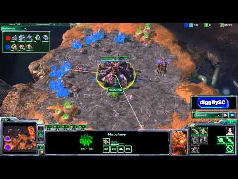 HD Starcraft 2: GoForSc2 Strelok v Morrow game 1 on Blistering Sands