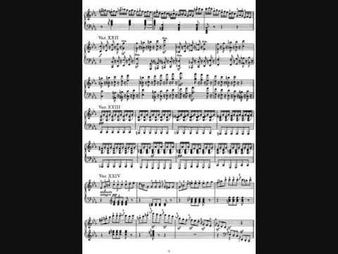 Л.В. Бетховен 32 вариации (до минор), исполняет Е. Новицкая