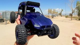 JJRC Q46 Speed Runner 1:12 RC Truggy Test Drive Review