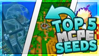 Top 5 Best MCPE Seeds 2019 1.11.4+ / Minecraft PE (Pocket Edition, Xbox, Windows 10)