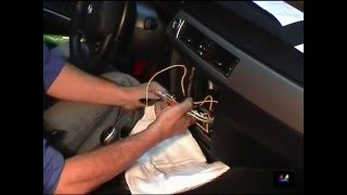 Radio BMW 3  / How to remove radio unit on BMW 3 / INE S900R