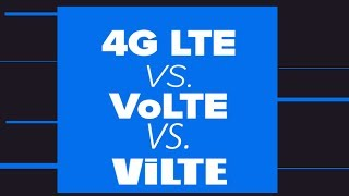4G LTE Vs. VoLTE !! Main Difference  !! What is ViLTE !!