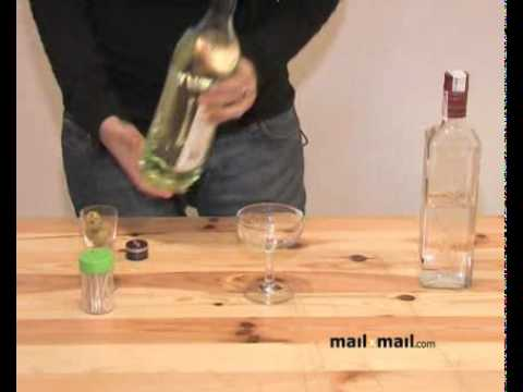 Recetas de bebidas. Cocktail de Dry Martini