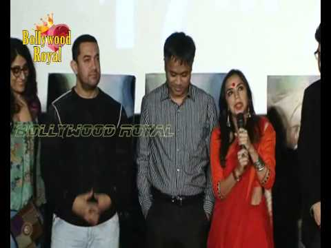 Aamir Khan,Kalki Koechlin & Shonali Bose at Trailer Launch of 'Margarita With A Straw' Part 1