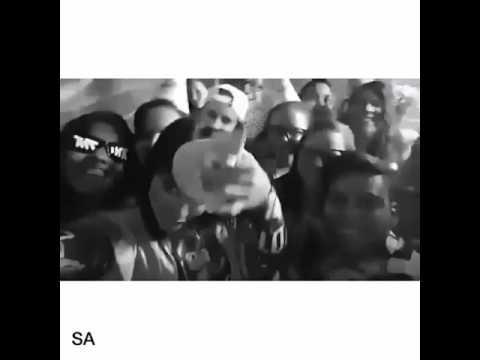Snap da Anitta em sua festa surpresa com fãs do SimborAnittar e nordeste