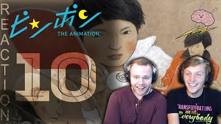 SOS Bros React - Ping Pong the Animation Episode 10 w/ Timer - The Dragon is Defeated with Love!!