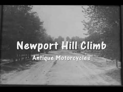 Newport Antique Motorcycle Hill Climb