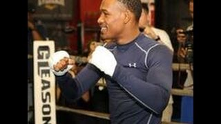 Daniel Jacobs media workout HIGHLIGHTS