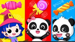 Learn Colors with Rainbow | Color Song, Number Song | Nursery Rhymes | Kids Songs | BabyBus