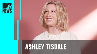 Ashley Tisdale Plays 'Dive In' | MTV News