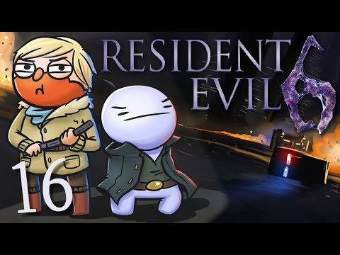 Resident Evil 6 /w Cry! [Part 16] - Sherry is a badass!!!