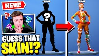 *NEW* Can YOU Guess that FORTNITE SKIN Challenge!
