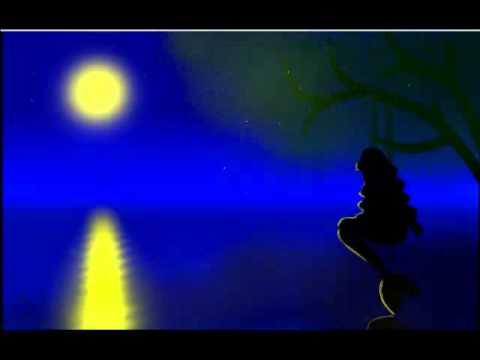 Русалка в ночи.. Mermaid in the night ...