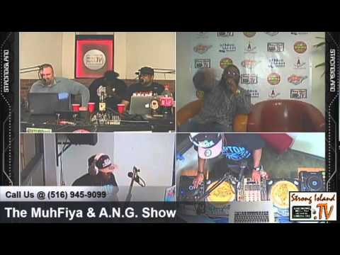 Jarred AllStar live Rap Freestyle on Strong Island Radio