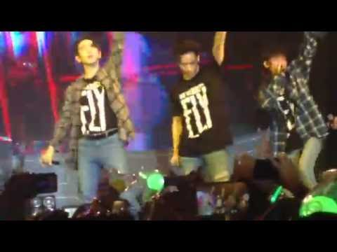 FLYinNYC 160706 GOT7 FOLLOW ME, BOUNCE, AND FLY REMIX #1