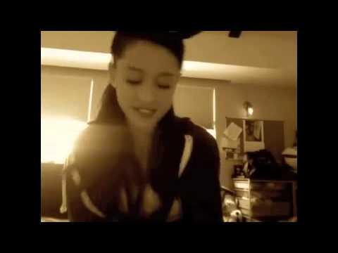 Ariana singing 'Emotions' by Mariah Carey