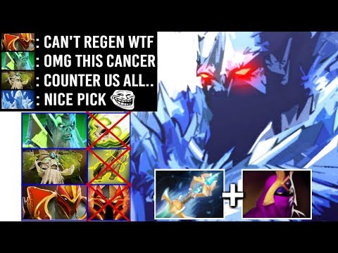 THIS IS HOW TOP 1 MMR AA Mid Counter Healing Team EZ by SoNNeikO Epic Game WTF Dota 2