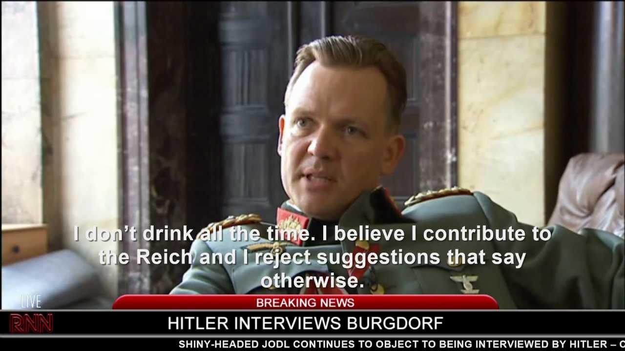 Hitler interviews Burgdorf