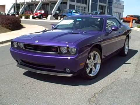 2010 Dodge Challenger R T Plum Crazy At Criswell Chrysler