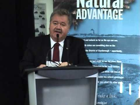 Goldboro LNG Announcement October 24 2012
