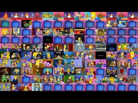 Video en el que podrán ver 130 episodios de Los Simpson al mismo tiempo