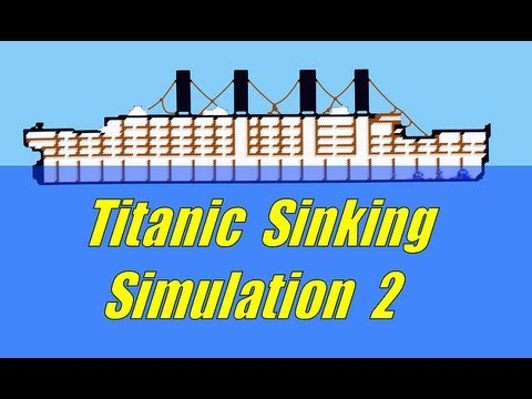Titanic Sinking simulation 2, Ship Sinking Sandbox