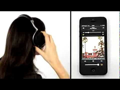 Parrot Zik Headphones demo in 40 seconds