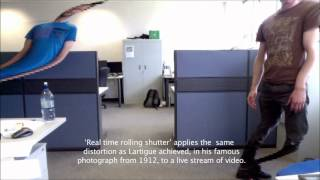 Real Time Rolling Shutter