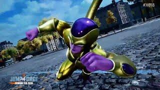 Jump Force Trailer Shows Super Saiyan Blue Goku and Golden Frieza - X018