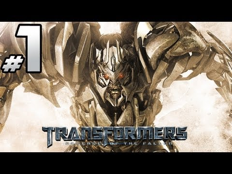 Transformers Revenge Of The Fallen - Decepticon Campaign - Part 1 - Starscream Is Boring! video
