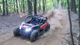 Can Am X3 Turbo Vs. Secret Motocross Track