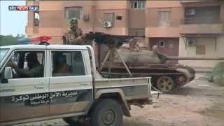 ليبيا.. بدء المعركة الجوية في طرابلس