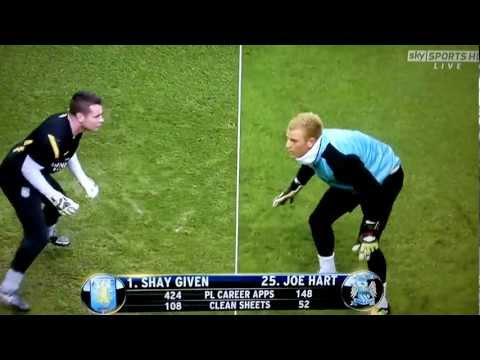 Shay Given vs Joe Hart