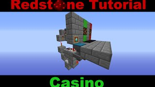 Minecraft Redstone Tutorial: Casino mit einstellbarer Gewinnchance