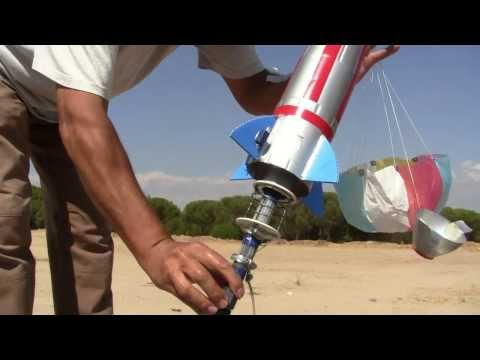 Como volar cohetes con botellas de plastico