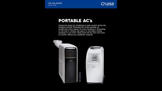 Installation of Portable Air Conditioner (By Cruise)