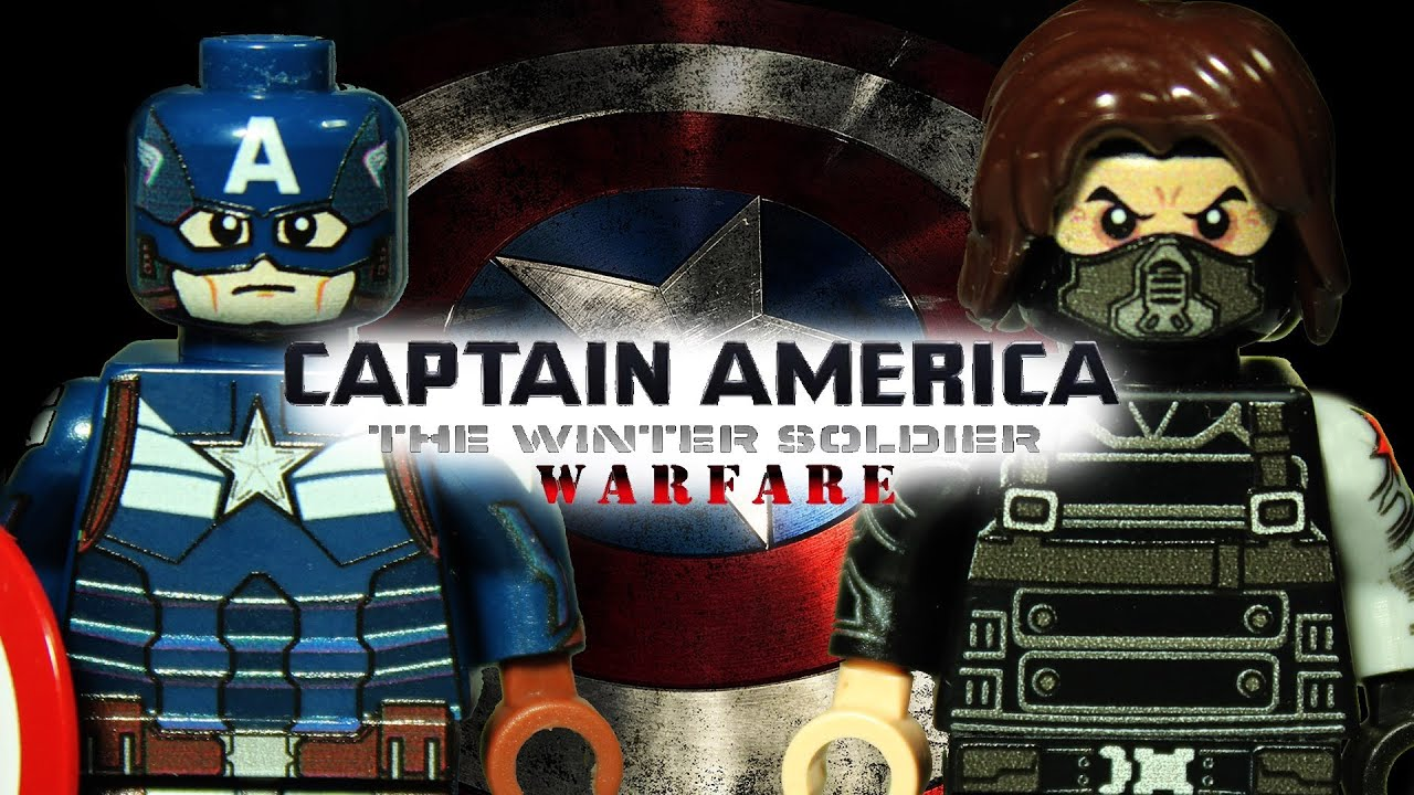 Lego captain america the winter soldier warfare youtube - Lego capitaine america ...