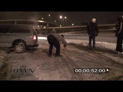 1/13/2009 Sub Zero Road Hazard Snow Fall